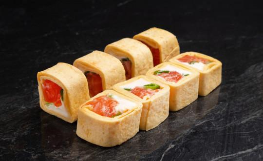 Заказать Премиум Аки ролл острый с доставкой на дом в Новосибирске, Империя суши