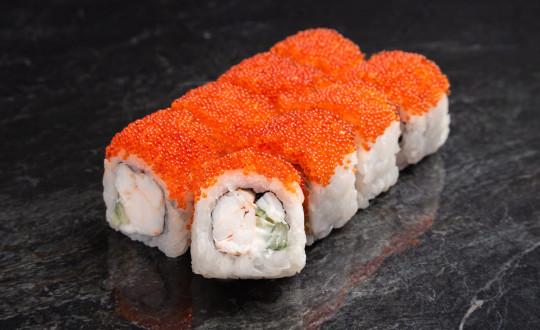 Заказать Премиум Ролл Калифорния с креветкой с доставкой на дом в Новосибирске, Империя суши