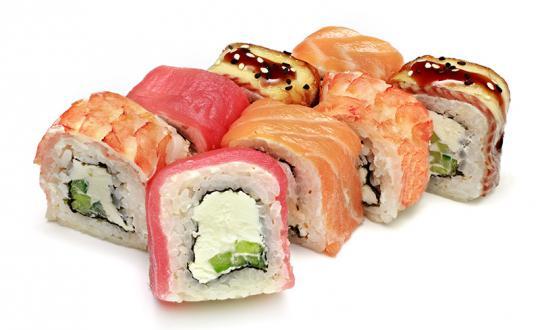 Заказать ролл Радуга с доставкой на дом в Бийске, Империя суши