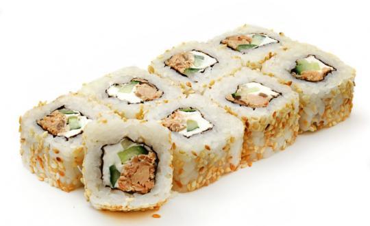 Заказать ролл Салмон чиз с доставкой на дом в Бийске, Империя суши