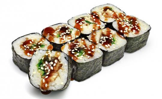 Заказать Ролл Унаги Маки с доставкой на дом в Новосибирске, Империя суши