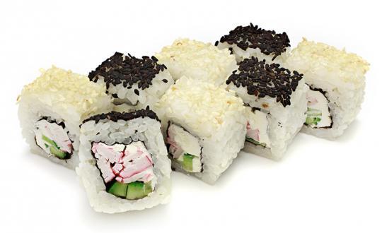 Заказать ролл Зебра с доставкой на дом в Бийске, Империя суши