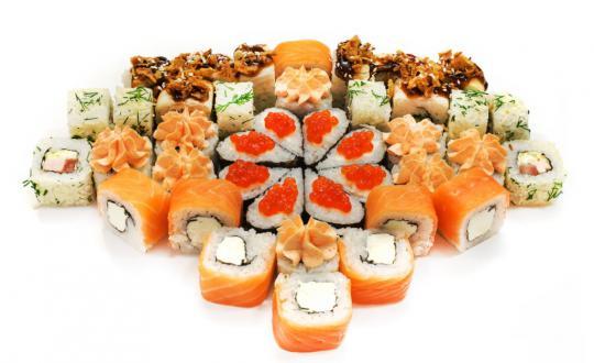 Заказать Сет для двоих с доставкой на дом в Новосибирске, Империя суши
