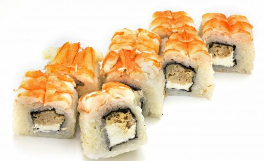 Заказать Ролл Ниагара лайт с доставкой на дом в Новосибирске, Империя суши