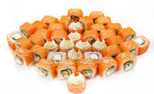 Заказать сет Cет Филадельфия с доставкой на дом в Новосибирске, Империя суши
