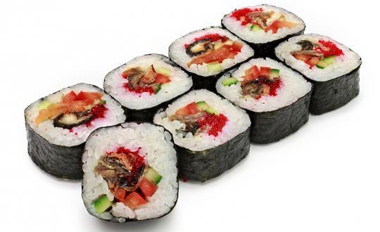 Заказать ролл Джин сан с доставкой на дом в Бийске, Империя суши