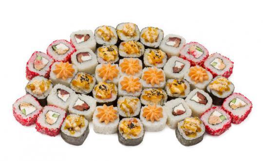 Заказать сет Черепашка с доставкой на дом в Новосибирске, Империя суши