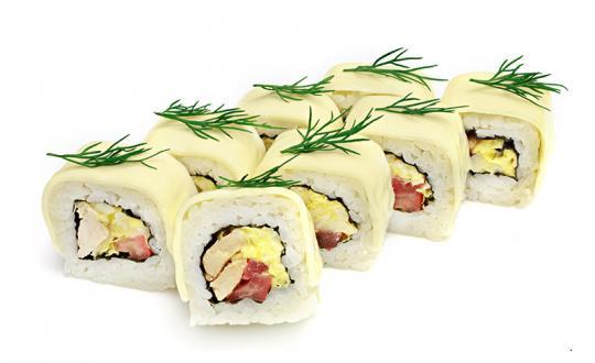 Заказать Ролл Чикен чиз с доставкой на дом в Новосибирске, Империя суши