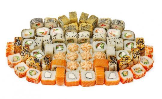 Заказать Сет Наслаждение с доставкой на дом в Новосибирске, Империя суши
