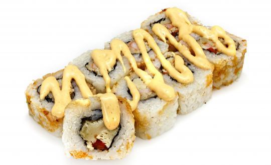 Заказать Ролл Эби спайси мексикано с доставкой на дом в Новосибирске, Империя суши