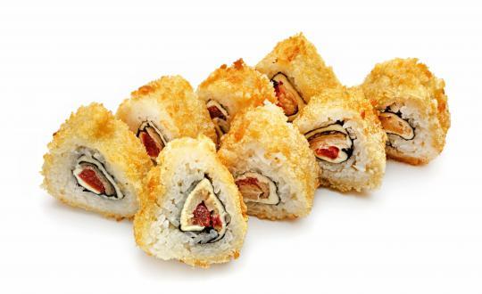 Заказать Ролл Темпура Эсколар с доставкой на дом в Новосибирске, Империя суши
