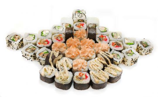 Заказать сет Доступный с доставкой на дом в Новосибирске, Империя суши