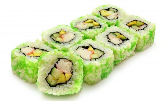 Заказать Ролл Калифорния Грин с доставкой на дом в Новосибирске, Империя суши