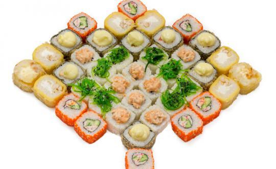 Заказать сет Морской скат с доставкой на дом в Новосибирске, Империя суши
