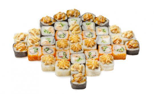 Заказать сет Имперский макси с доставкой на дом в Новосибирске, Империя суши