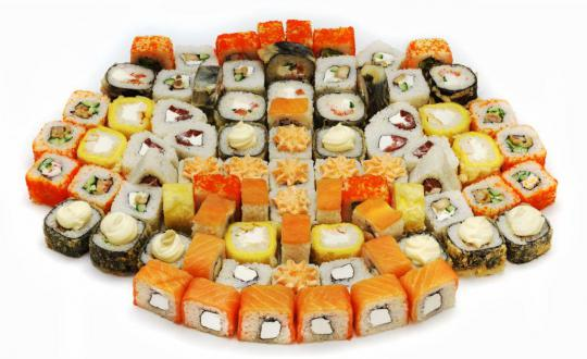 Заказать Сет Большое пати с доставкой на дом в Новосибирске, Империя суши