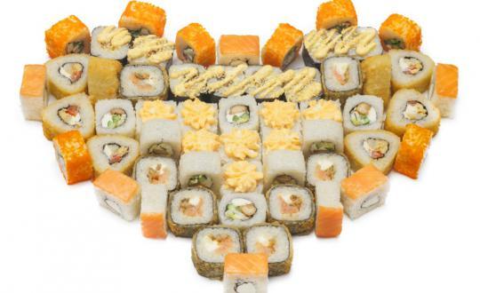 Заказать сет Валентинка с доставкой на дом в Новосибирске, Империя суши