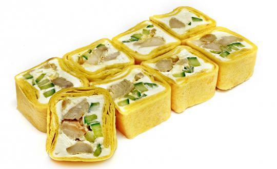 Заказать Чикен Ролл с доставкой на дом в Новосибирске, Империя суши