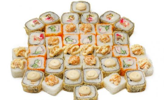 Заказать сет Ласточка с доставкой на дом в Новосибирске, Империя суши