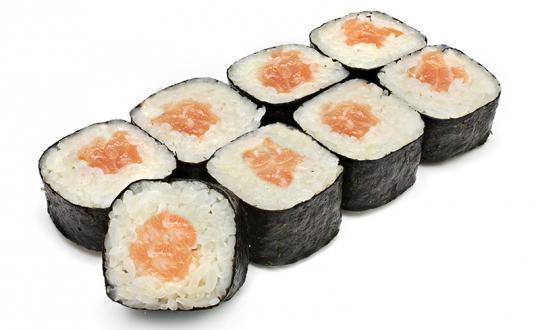 Заказать Ролл Сяке Маки с доставкой на дом в Новосибирске, Империя суши