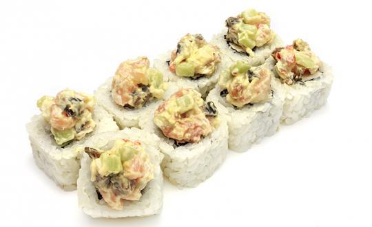 Заказать Ролл Спайси микс с доставкой на дом в Новосибирске, Империя суши