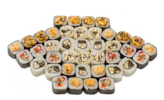 Заказать сет Чайка с доставкой на дом в Новосибирске, Империя суши