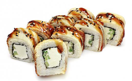 Заказать Ролл Унаги филадельфия с доставкой на дом в Новосибирске, Империя суши