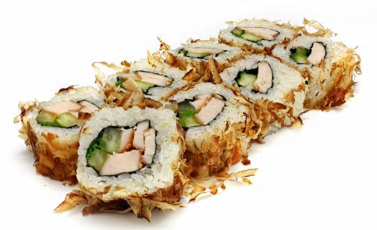 Заказать Ролл Бонито с курицей с доставкой на дом в Новосибирске, Империя суши