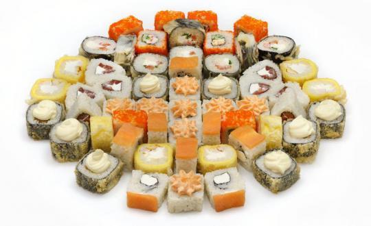 Заказать Сет Якудза с доставкой на дом в Новосибирске, Империя суши