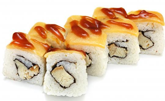 Заказать Ролл Филадельфия лайт с эсколаром с доставкой на дом в Новосибирске, Империя суши