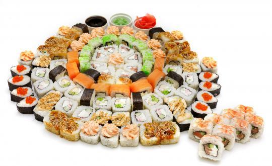 Заказать сет Комплимент - все включено! с доставкой на дом в Новосибирске, Империя суши