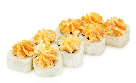 Заказать Ролл Лава с эсколаром с доставкой на дом в Новосибирске, Империя суши