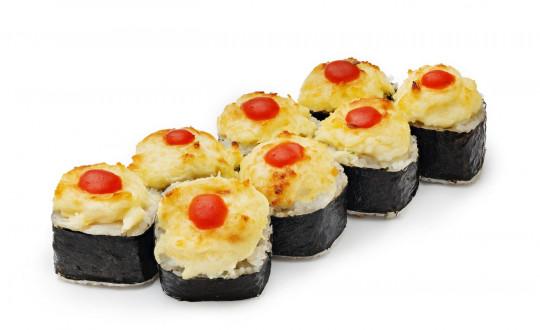 Заказать Ролл Запеченный Кунсей с доставкой на дом в Новосибирске, Империя суши