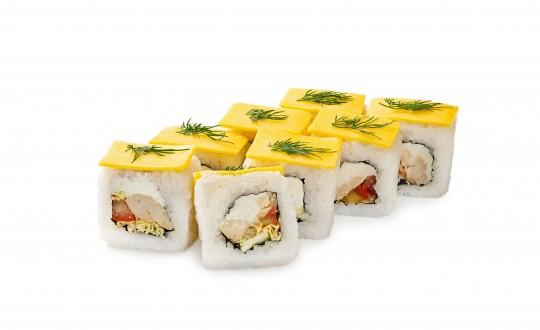 Заказать Ролл Чикен New с доставкой на дом в Новосибирске, Империя суши
