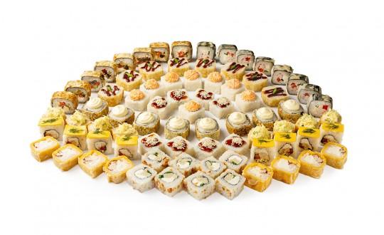 Заказать Сет Мегапирушка с доставкой на дом в Новосибирске, Империя суши