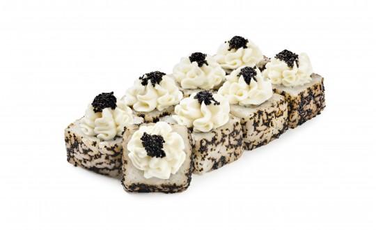 Заказать Ролл Черный жемчуг с доставкой на дом в Новосибирске, Империя суши
