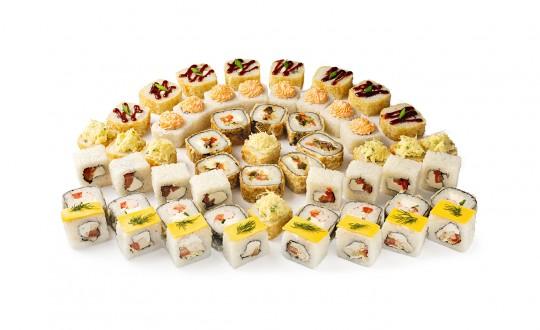 Заказать Сет Сенсей с доставкой на дом в Новосибирске, Империя суши