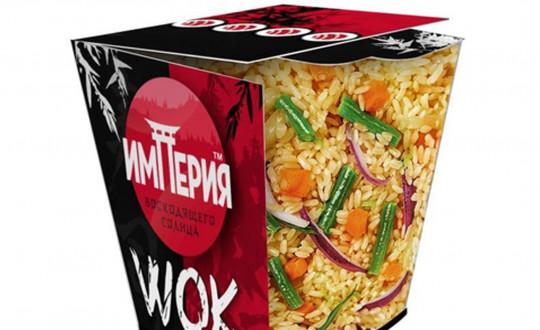 Заказать Коробочка wok Рис с Лососем с доставкой на дом в Новосибирске, Империя суши