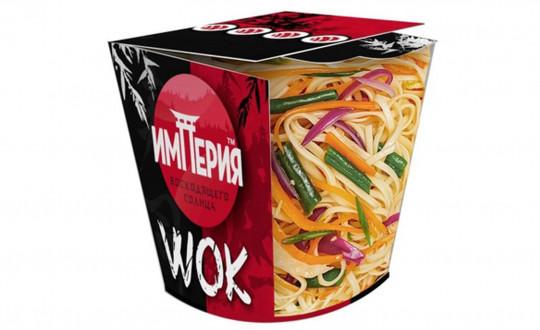 Заказать Коробочка wok Удон с Лососем с доставкой на дом в Новосибирске, Империя суши