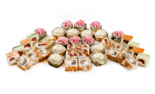 Заказать Сет Морозко с доставкой на дом в Новосибирске, Империя суши