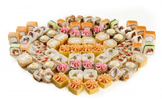 Заказать Сет СуперТуса с доставкой на дом в Новосибирске, Империя суши