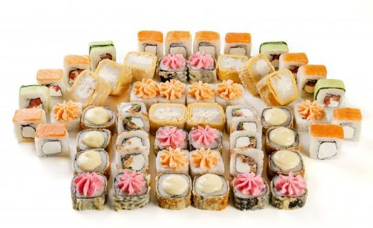 Заказать Сет Самурай с доставкой на дом в Новосибирске, Империя суши