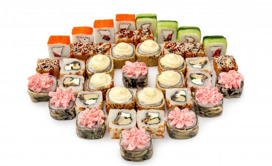 Заказать Сет Аляска с доставкой на дом в Новосибирске, Империя суши