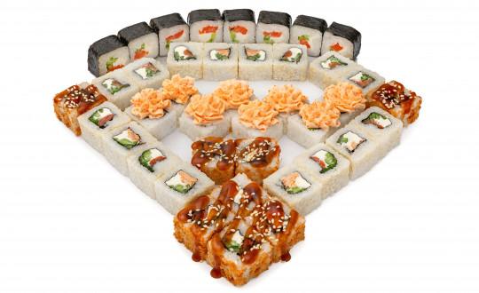 Заказать Сет Панда с доставкой на дом в Новосибирске, Империя суши