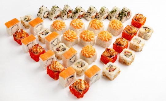 Заказать Сет Тайский с доставкой на дом в Новосибирске, Империя суши