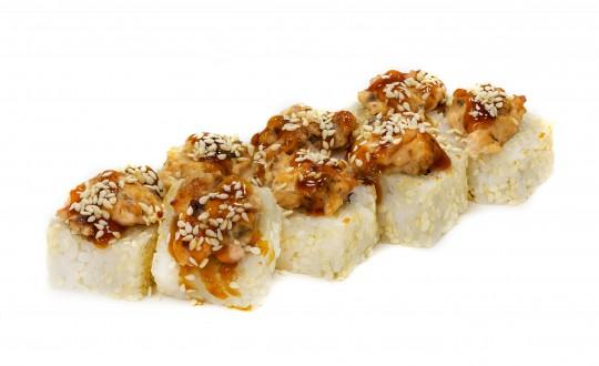 Заказать Ролл Унаги Сяке с доставкой на дом в Новосибирске, Империя суши