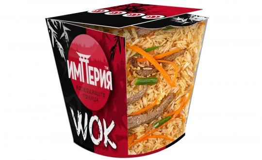 Заказать Коробочка wok Рис с говядиной с доставкой на дом в Новосибирске, Империя суши