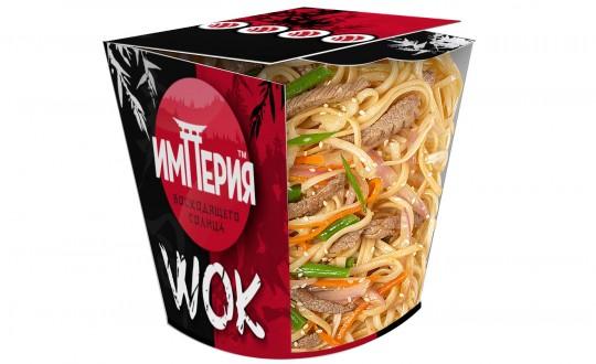 Заказать Коробочка wok Удон с говядиной с доставкой на дом в Новосибирске, Империя суши