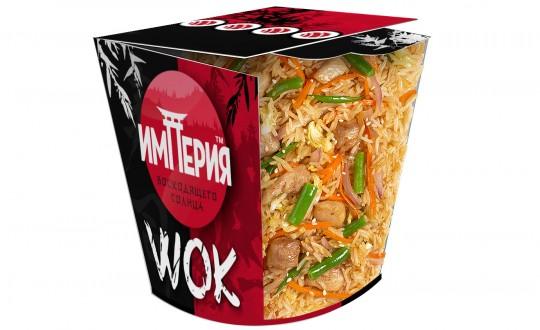Заказать Коробочка wok Рис c курицей с доставкой на дом в Новосибирске, Империя суши