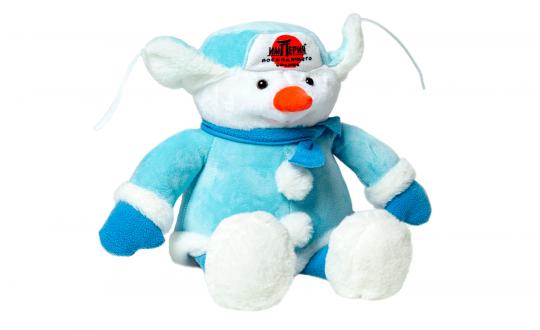 Заказать Фирменная игрушка Снеговик с доставкой на дом в Новосибирске, Империя суши